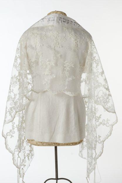 Dior - Women's Handmade Sheer Silk Tallit-3388