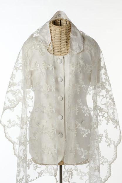 Dior - Women's Handmade Sheer Silk Tallit-0