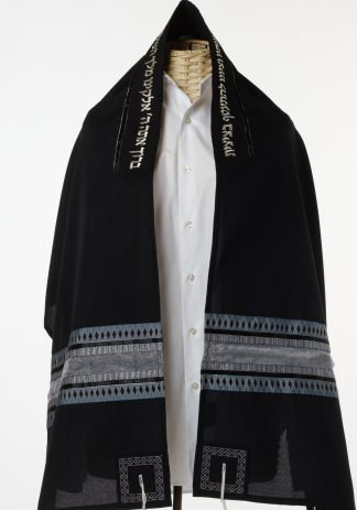 Sawyer - Men's Handmade Viscose Tallit-0