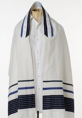 Isaiah - Men's Handmade Wool Tallit-0