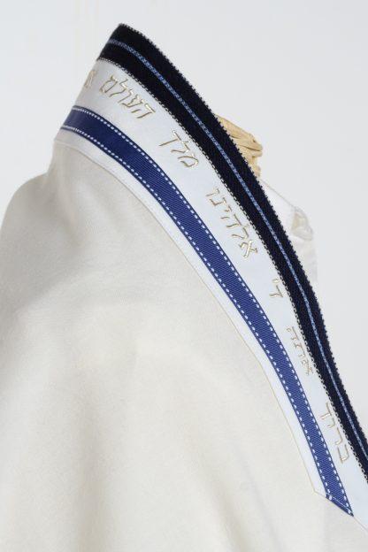 Isaiah - Men's Handmade Wool Tallit-3494