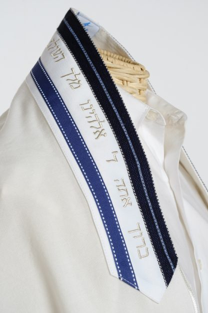 Isaiah - Men's Handmade Wool Tallit-3492